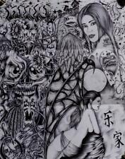 Flash Art Tattoo Prison Prisoner Collection