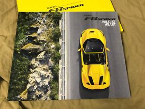 FERRARI F8 SPIDER customer brochure Prospekt hardcover book 95993569