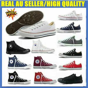 AU Convers Unisex All Star Classic Women Men High/Low Tops Trainers Pumps Shoes
