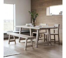 Frank Hudson Gallery Direct Kielder Oak Dining Table - 185cm