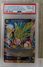 Furious Rush SS3 Son Goku FOIL Dragon Ball Super Card BT3-035 PSA 10 GEM MINT