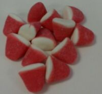 Gummy Strawberry Puffs - FREE SHIPPING - Gummi Puff Candy Candies