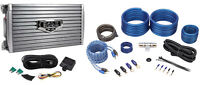 Boss Audio Armor AR1600.2 1600w 2-Channel Car Stereo Amplifier+Remote+Amp Kit