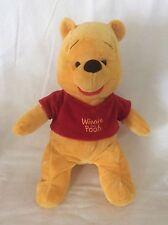 "Disney 14"" Winnie The Pooh Plush Stuffed Animal"