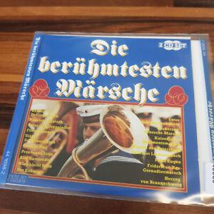 VARIOUS: Die Berühmtesten Märsche  PILZ  > EX (2CD)