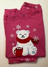 Babyroom Girls Matching Doll 4 Piece Long Cotton Christmas Pajamas Kids 11 yrs