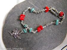 Turquoise Alloy Handmade Costume Bracelets