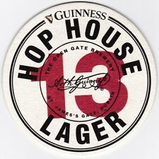 Rare beer coaster / mat GUINNESS from Italy (D=94 mm)
