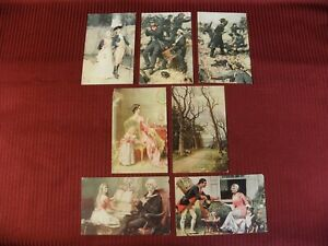 Postcards Lot of 7 Vintage Early America War Political Presidential Washington
