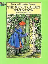 The Secret Garden Coloring Book by Frances Hodgson Burnett