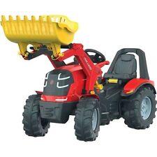 Rolly Toys 651016 rolly X-Trac Premium mit Schaltung und Bremse mit Frontlader