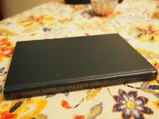 MY SERMON NOTES ON Parables & Metaphors by Rev. WP Van Wyk 1962 HC Baker