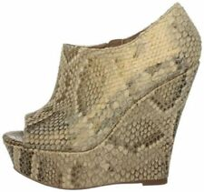 "Very High Heel (greater than 4.5"") Wedge Women's Animal Print Heels"