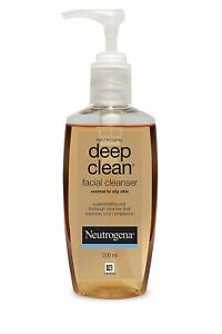 Facial Cleanser For Normal To Oily Skin From Neutrogena Deep Clean - 200 ml