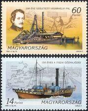 Hungary 1995 Paddle-steamer/Survey Ship/Boats/Nautical/Transport 2v set (n45136)