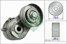 CHRYSLER VOYAGER Aux Belt Tensioner 2.5,2.8D 2000 on Drive V-Ribbed INA Quality