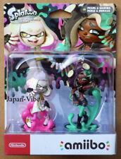 Pearl and Marina Nintendo Splatoon Amiibo 2 Pack Figures Switch EU Version New