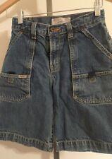 Levi Strauss Signature Size 10 Regular Boys Blue Jeans Pocket Shorts