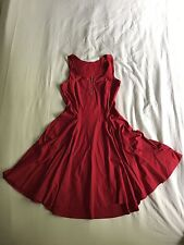 Black Milk Clothing Matte Red Evil Zip Dress Sold Out