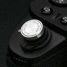 Gariz Universal Soft Release Shutter Button Auslöser Kamera Auslöseknopf |Silber