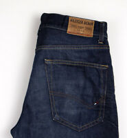 Tommy Hilfiger Hommes Jeans Jambe Droite Taille W33 L28 AOZ426