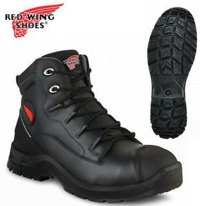 """Red Wing Petroking 6"""" 3225 Safety Work Boot Lace Up Black 