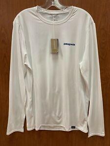 Patagonia Men's Capilene Cool Daily Graphic Long Sleeve Shirt 45190 $55 Retail