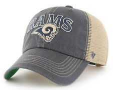 LOS ANGELES RAMS NFL SNAPBACK TRUCKER CLEAN UP DAD SLOUCH CAP HAT NWT! '47 BRAND