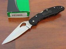 "Spyderco Cara Cara2 Folding Knife 3.75"" 8Cr13MoV Steel Blade Black FRN Handle"