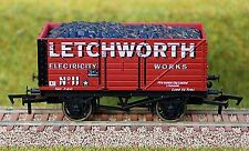 """4mm / OO GAUGE LIMITED EDITION COAL WAGON  """"LETCHWORTH ELECTRICITY WORKS"""""""