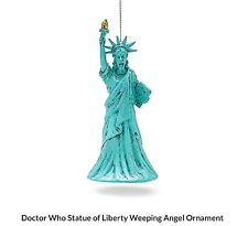 Doctor Who Ornament - Statue of Liberty Weeping Angel Ornament - Kurt Adler