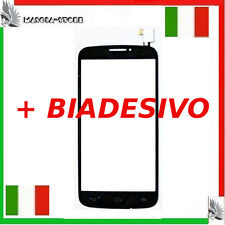 TOUCH SCREEN Vetro ALCATEL ONE POP C7 7041 7041D 7040E A Schermo Display NERO