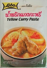 LOBO YELLOW CURRY PASTE AUTHENTIC TASTE OF THAILAND DELICIOUS FOOD INT POSTAGE