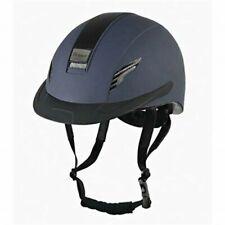 Whitaker Vx2 Carbon Riding Helmet Navy Medium (55-57cm)