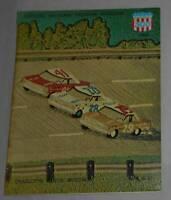 Vintage 1966 NASCAR National 500 Race Program Charlotte Motor Speedway NC