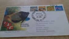 1973 AUSTRALIA MARINE LIFE FDC COVER  STAMPS  POST FREE WORLDWIDE £2.99