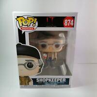 Stephen King Shopkeeper #874 Funko Pop Movies IT Chapter 2