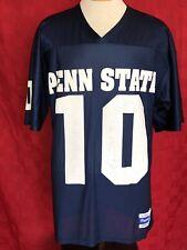 Rare Vintage Psu Penn State nittany lions #10 football Jersey Majestic