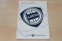 00775) Lancia Y 10 - Delta - Dedra - Kappa - Prospekt 02/1995