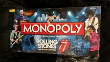 MONOPOLY ROLLING STONES ROCK& ROLL BAND THEMED BOARD GAME 2010 NEW TORN WRAP