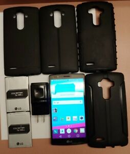 LG G4 H811 - 32GB - Metallic Gray (T-Mobile) USED w/accessories
