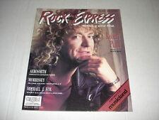 ROBERT PLANT rare Rock Express magazine April 1988 Lita Ford SMITHS Aerosmith