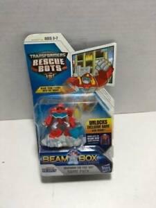 Transformers Rescue Bots Playskool Heroes Heatwave The Fire-Bot Beam Box