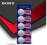 Sony CR2016 CR 2016 3V Coin Cell Button Battery for watch x 5pcs Genuine