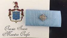 Nastrino Benemerenza Giubilare Sacro Militare Ordine Costantiniano S. Giorgio