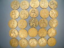 More details for 1911 to 1936 george v - bronze halfpenny   full set of coins
