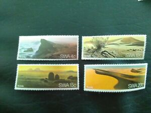 SET OF 4 MNH STAMPS OF SOUTH WEST AFRICA 1977 NAMIB DESERT MULTICOLOURED.