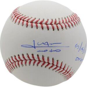 JUAN SOTO Autographed Nationals MLB Debut 5/15/18 Official MLB Baseball FANATICS