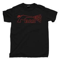 The Bang Bang Bar T Shirt Twin Peaks Fire Walk With Me Black White Lodge Bob Tee