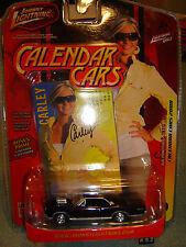 JOHNNY LIGHTNING CALENDAR CARS Carley '66 Pontiac GTO 2DR Black #7